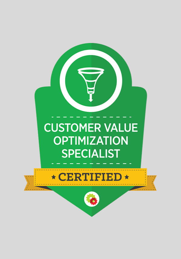 Digital Marketer Certified Professional - Customer Value Optimization Mastery