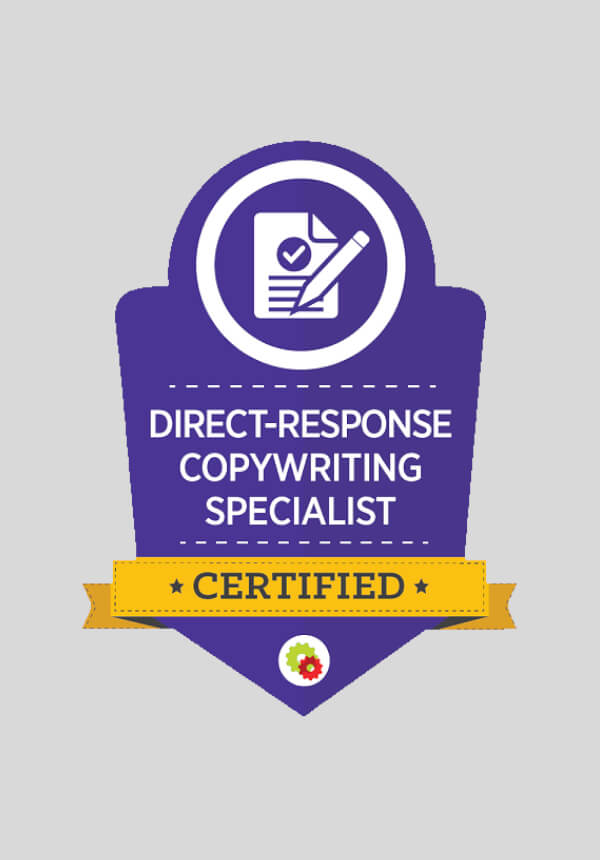 Digital Marketer Certified Professional - Direct-Response Copywriting Mastery