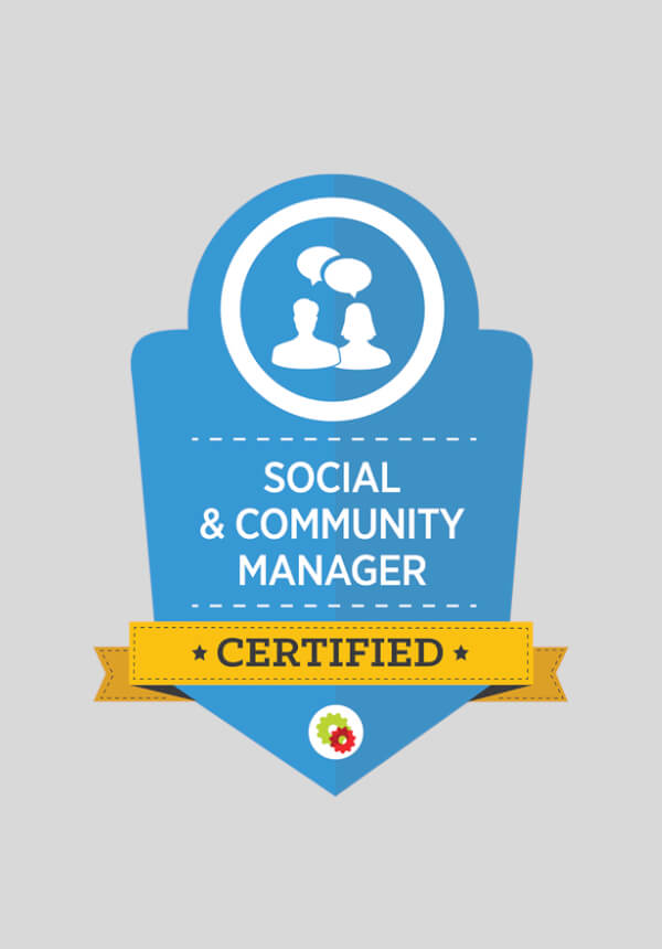 Digital Marketer Certified Professional - Social and Community Manager Mastery