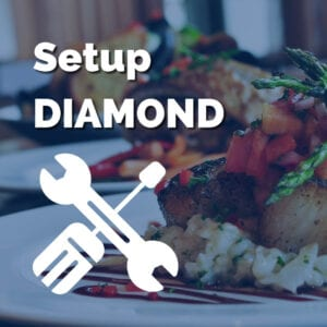 Remarketing Food - Setup Diamond